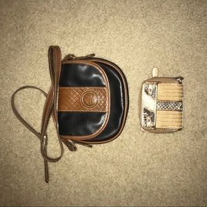 Handbags - Cross Body Purse w/ Wallet Duo